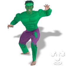 Incredible Hulk Adult Men's costume idea