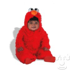 Infant Baby Elmo from Sesame Street costume idea