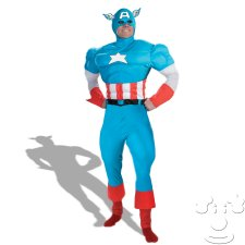 Teen Captain America costume idea