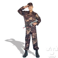 Teen Army Soldier costume idea