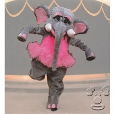 Elephant Ballerina costume idea