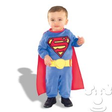 Infant Baby Superman costume idea