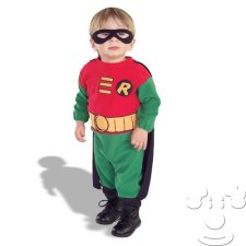 Robin from Batman Infant Baby costume idea