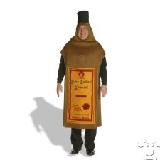 Tequila Bottle Adult Funny costume idea