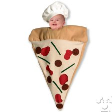 Infant Baby Pizza Slice Bunting costume idea