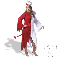 Half Devil Half Angel Plus Size costume idea