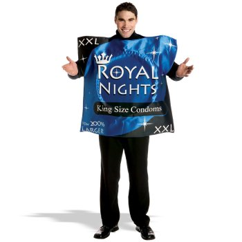 Royal Nights Condom Adult Funny costume idea