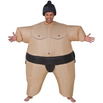 Inflatable Sumo Funny costume idea