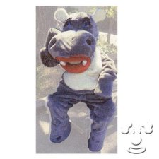 Happy Hippo the Hippopotamus costume idea