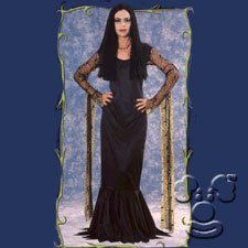 Adult Morticia from the Addams Family costume idea