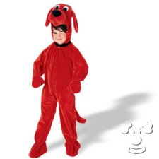 Clifford the Big Red Dog Kids costume idea