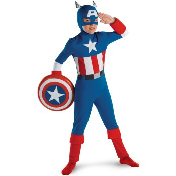Captain America Childrens Movie costume idea