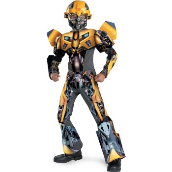 Bumblebee of Transformers Childrens Movie costume idea