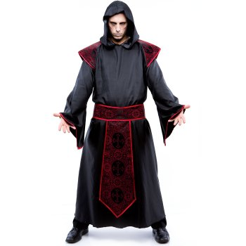 Gothic Priest Plus Size costume idea