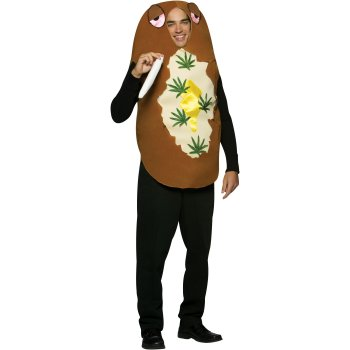 Totally Baked Potato Funny costume idea