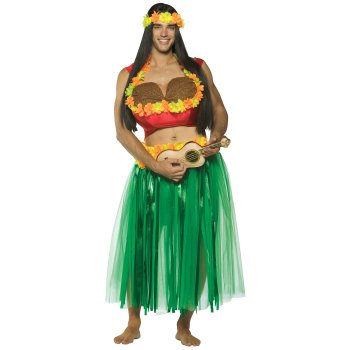 Dashboard Hula Guy Funny costume idea