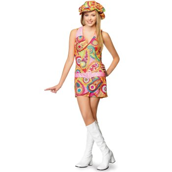 Groovy Hippie Teen costume idea