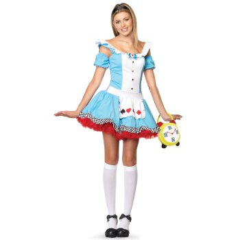 Alice in Wonderland Teen costume idea