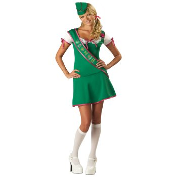 Girl Scout Teen costume idea