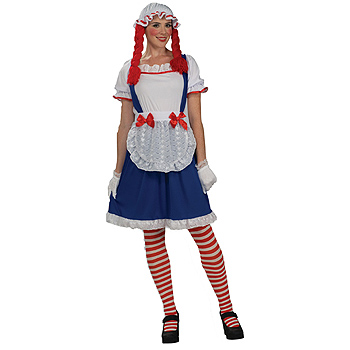 Raggedy Ann Rag Doll Adult Classic costume idea