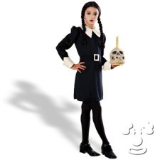 Wednesday from Addams Family Kids costume idea