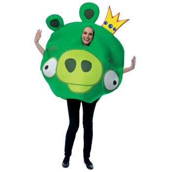 Angry Birds King Pig Adult costume idea