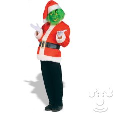 Grinch Who Stole Christmas Dr. Seuss Adult Men's costume idea