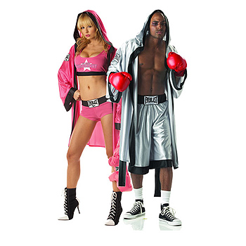 Boxer Adult Couples costume idea