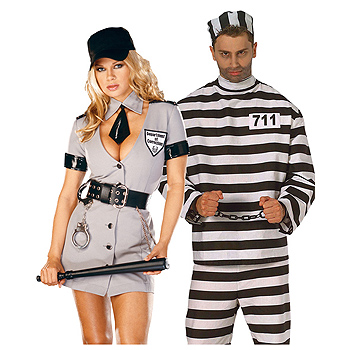 Ball and Chain Adult Couples costume idea