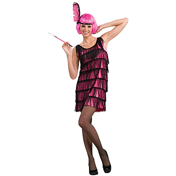Flapper Pink 1920's Adult Classic costume idea