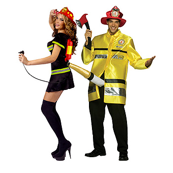 Fire Fighter Adult Couples costume idea