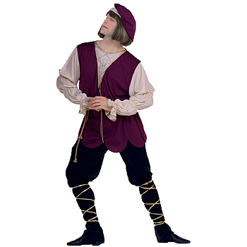 Mens Shakespear Romeo Adult costume idea