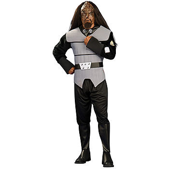 Klingon of Star Trek Adult Deluxe costume idea