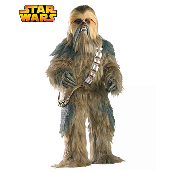 Chewbacca of Star Wars Adult Deluxe costume idea