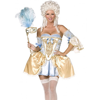 Adult Baroque Royal Court Lady Deluxe costume idea
